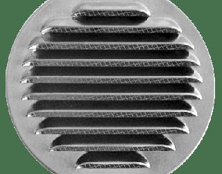 czerpnia aluminiowa - wykończenie połysk